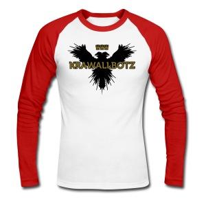 Krawallbotz - Männer Baseballshirt langarm