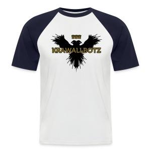 Krawallbotz - Männer Baseball-T-Shirt