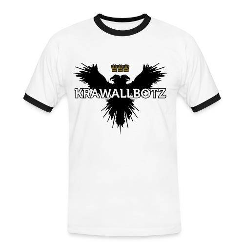 Krawallbotz - Männer Kontrast-T-Shirt