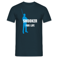 T-Shirts ~ Men's T-Shirt ~ Snooker for life