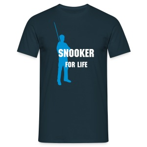 Snooker for life - Männer T-Shirt
