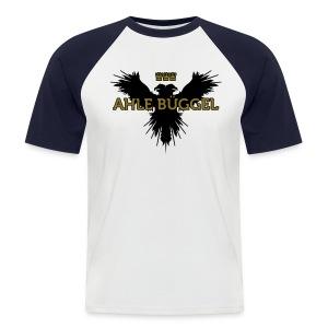 Ahle Bueggel - Männer Baseball-T-Shirt
