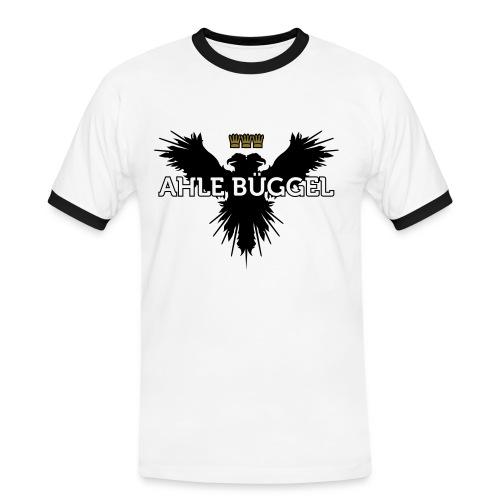 Ahle Bueggel - Männer Kontrast-T-Shirt