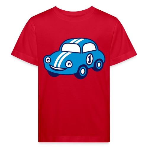 auto - Lasten luonnonmukainen t-paita