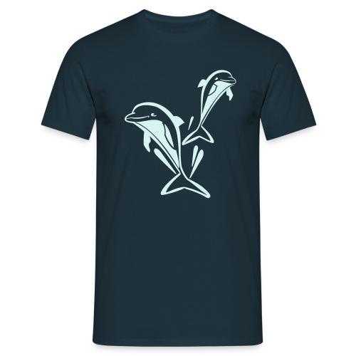 power reflex delfinshirt - Männer T-Shirt