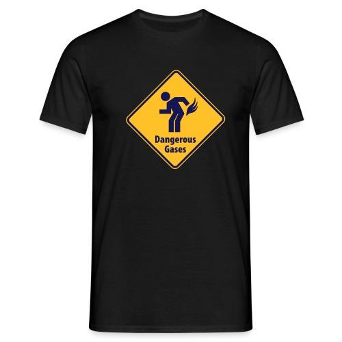 Enkel tshirt med roligt tryck. - T-shirt herr