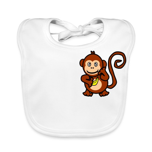 Monkey  Bib - Baby Organic Bib