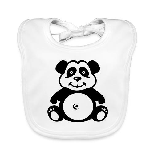 Panda Bib - Baby Organic Bib