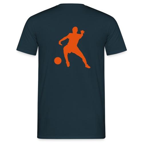 Basic Shirt d´blau - Männer T-Shirt