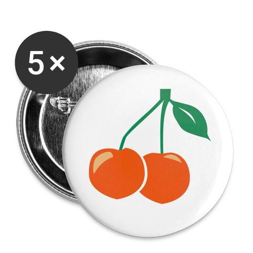 cherry - Buttons mittel 32 mm