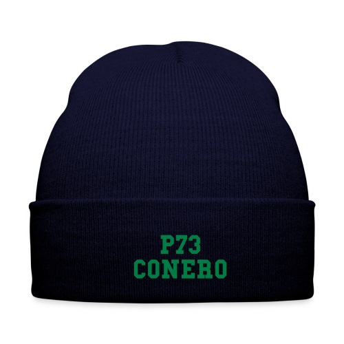 P73 Winter Cap Dark blue / Green - Cappellino invernale
