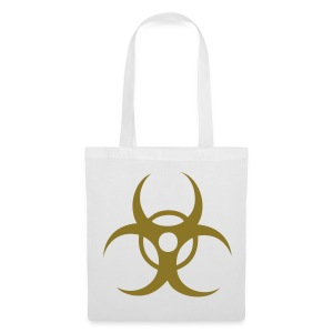 Biohazard - Gold print - Tote Bag