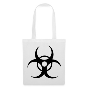 Biohazard - Black print - Tote Bag