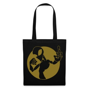 Alien fuck U - Gold print - Tote Bag
