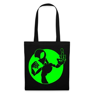 Alien fuck U - Neongreen - Tote Bag