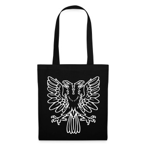 2Headed eagle - White print - Tote Bag