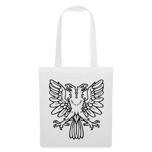 2Headed eagle - Black print - Tote Bag