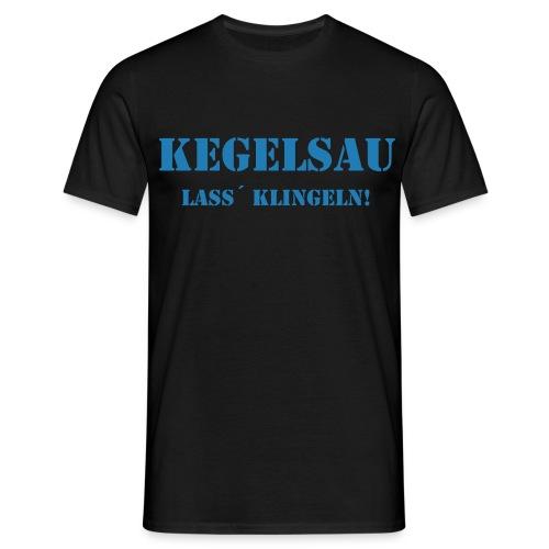 DAS T-Shirt für Kegler - Männer T-Shirt