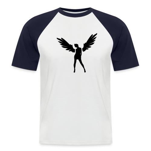 NIGHTANGEL - Männer Baseball-T-Shirt