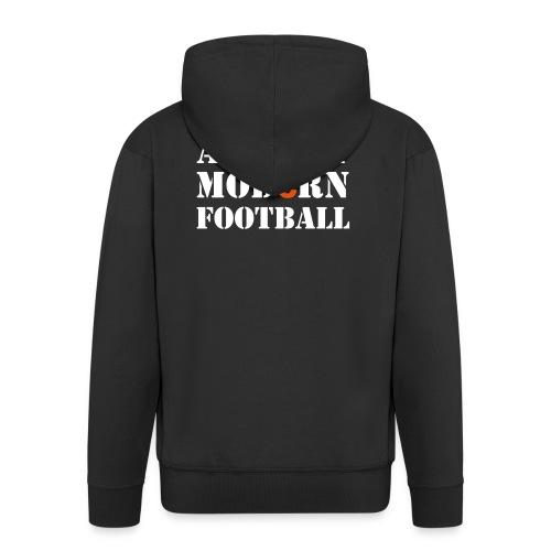 Jacke MODERN FOOTBALL - Männer Premium Kapuzenjacke