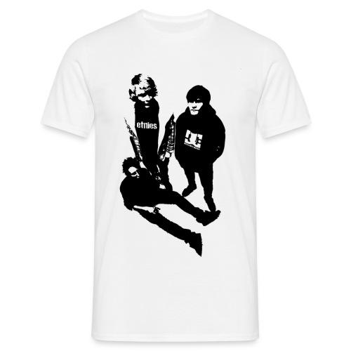 Trendsettarklubben svart - T-skjorte for menn