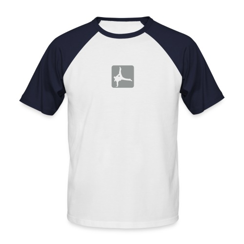 Breakdance - Männer Baseball-T-Shirt
