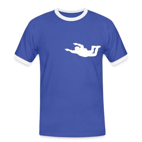 Skydive3 - Kontrast-T-skjorte for menn