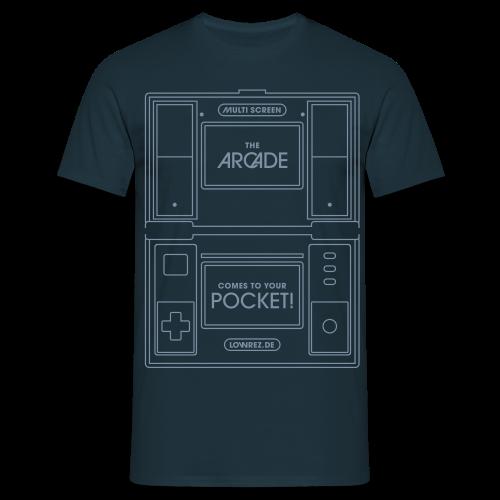 Multiscreen (silver) - Men's T-Shirt