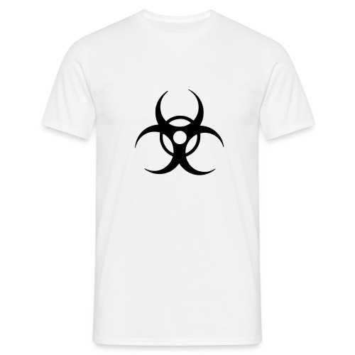 Biohazard (black) - Men's T-Shirt