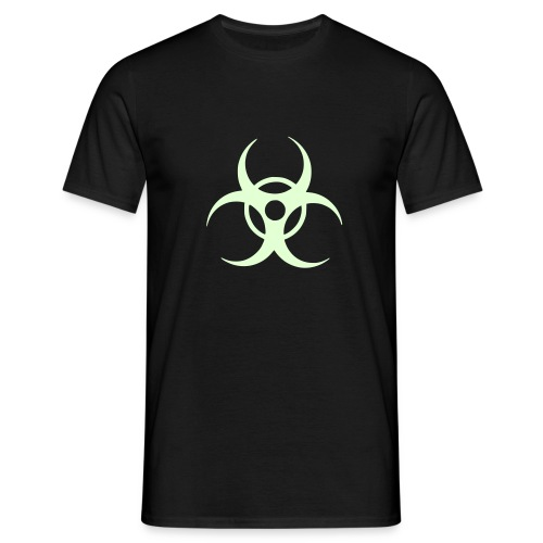 Biohazard (glow in the dark) - Men's T-Shirt