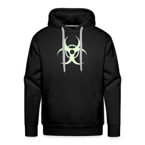 Biohazard, Hood (glow in the dark) - Men's Premium Hoodie