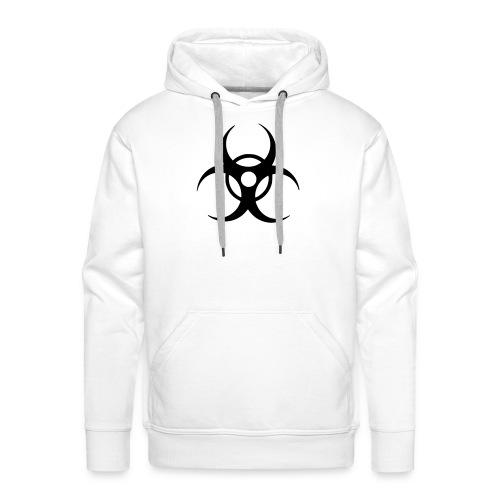 Biohazard, Hood (black) - Men's Premium Hoodie