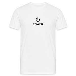 Powershirt - Mannen T-shirt