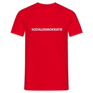 Sozialdemokratie - T-Shirt - Männer T-Shirt