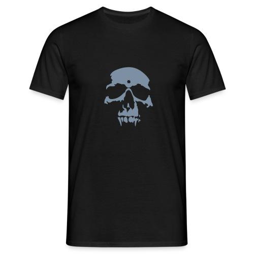 Skull Vampire (silver) - Men's T-Shirt
