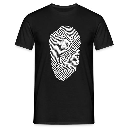 Fingerprint - Männer T-Shirt