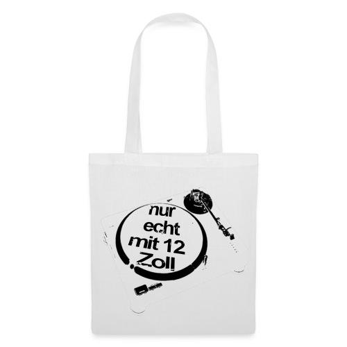 echte 12 Zoll Tasche - Stoffbeutel