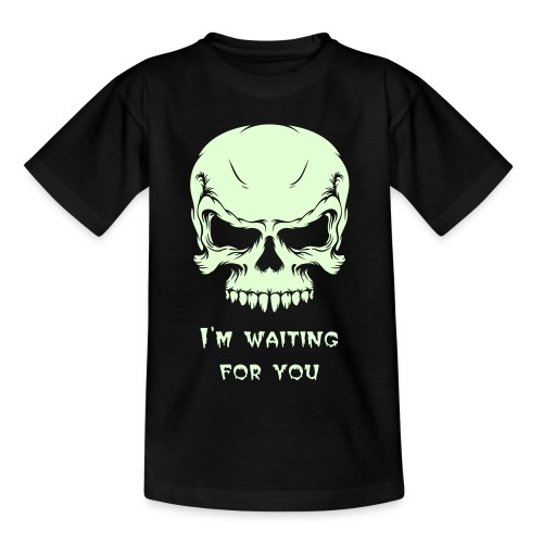 Skully glow in the dark KID tee - Teenage T-Shirt
