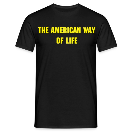 Way of life - Männer T-Shirt