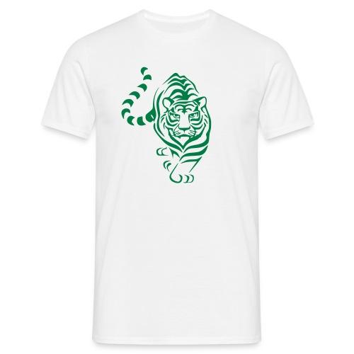 Green Tiger - Männer T-Shirt