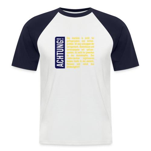 Übersetzung - Männer Baseball-T-Shirt