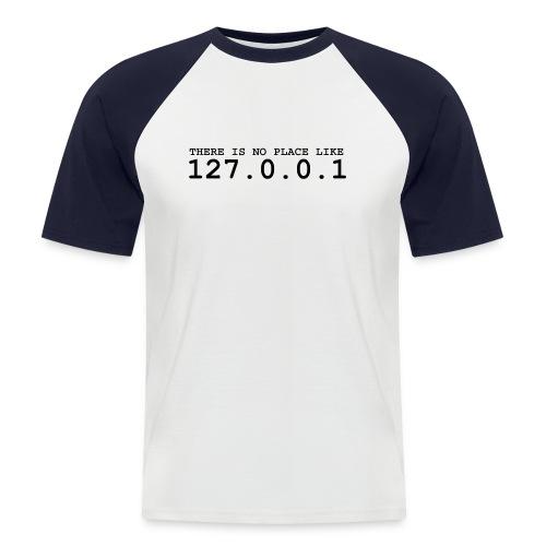 127.0.0.1 - Männer Baseball-T-Shirt