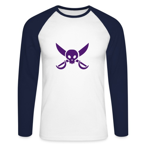 pirate - T-shirt baseball manches longues Homme