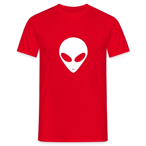 Alien (white) - Men's T-Shirt