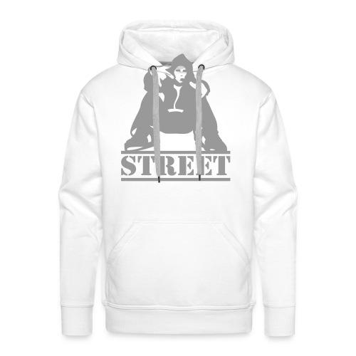 StreetGuy - Herre Premium hættetrøje