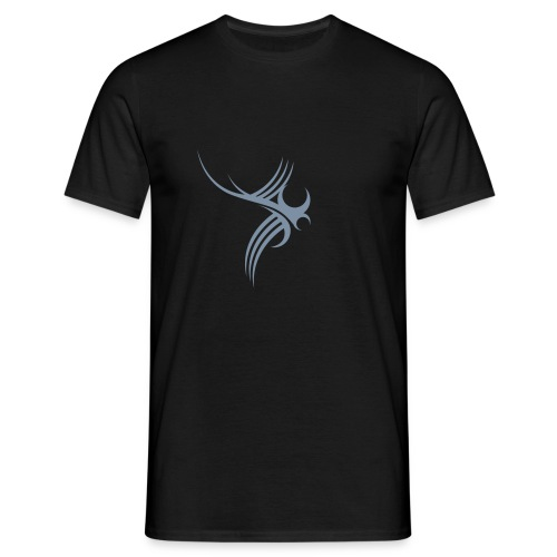 Tribal 02 (silver) - Men's T-Shirt