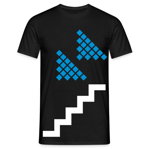 Down Set - Men's T-Shirt