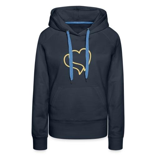 Heart'shirt - Sweat-shirt à capuche Premium pour femmes