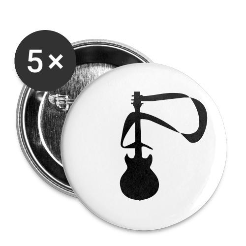 Gitarre - Buttons klein 25 mm