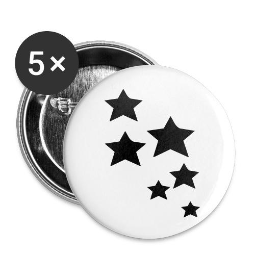 Anstecker stars - Buttons klein 25 mm